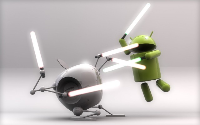Android triumphs over iPhone app store