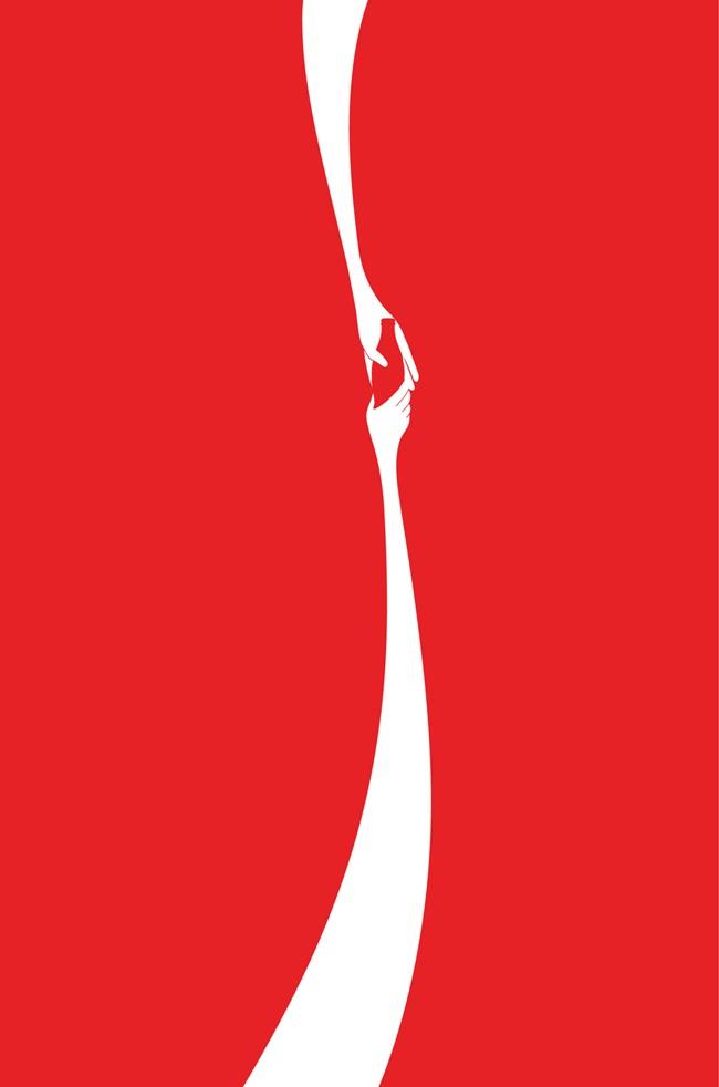 Steve Jobs kid Coke Logo