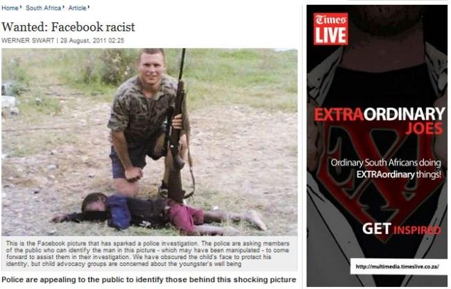 Facebook Racist