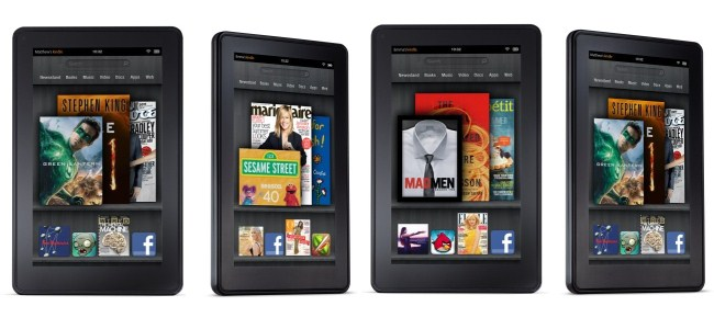The Amazon Kindle Fire