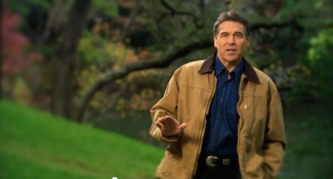 'Strong' Rick Perry