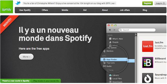 Spotify screengrab
