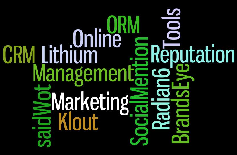 Social Online Reputation Tools