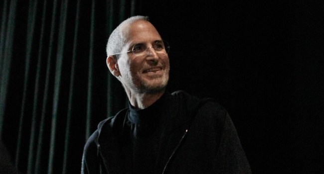 Steve Jobs at WWDC 2010 taken by Wired's Jon Snyder