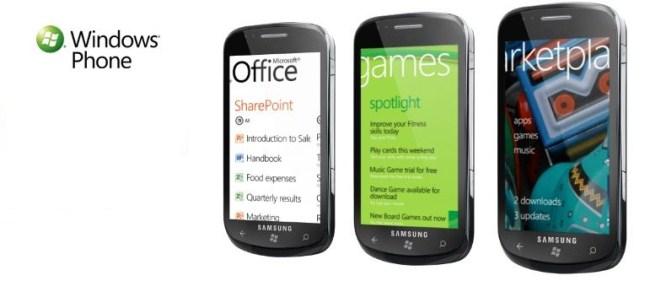 Windows 7 Smartphones