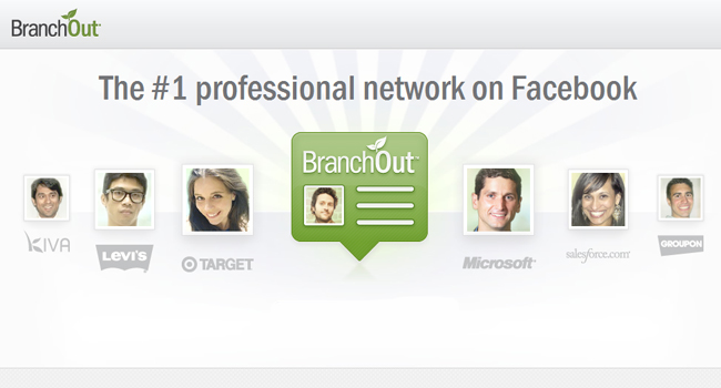branchout social networking app for facebook