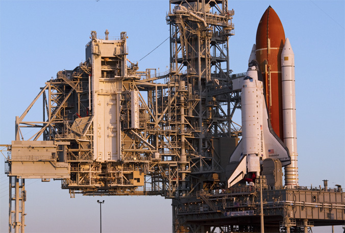 endeavour-launch-pad