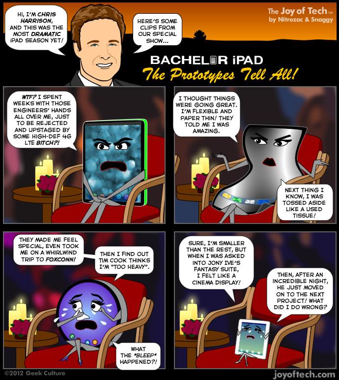 iPad protyope comic