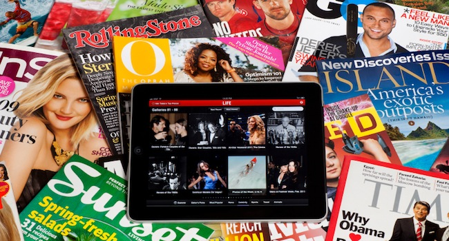 Magazine and Tablets