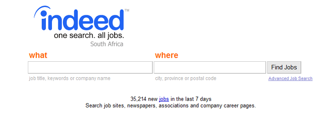 Indeed: Search jobs, don't browse - Ventureburn