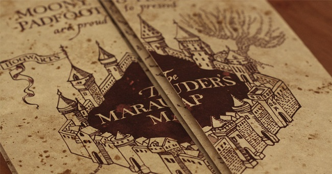 Harry Potter Marauders Map Wallpaper : galleryhip.com - The Hippest ...