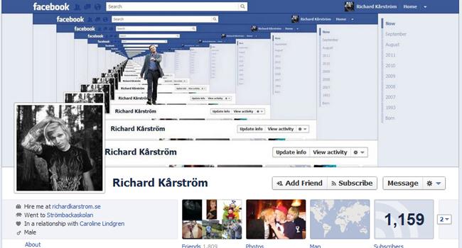 richard karstrom facebook timeline hack